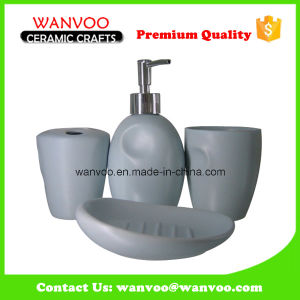 White Contemporary Ceramic Bath Accessories for Home Decor pictures & photos