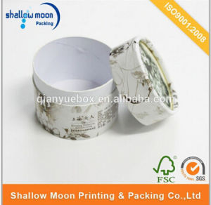 Custom Logo Round Paper Tube Cylinder Flower Tea Packaging Box Wholesale (QYZ172) pictures & photos