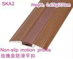 Building Materials of Flooring Accessories with Slip-Proof Multional PVC Rose Goden Rubber pictures & photos