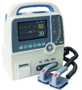 CE Approval Portable Biphasic Defibrillator Monitor pictures & photos