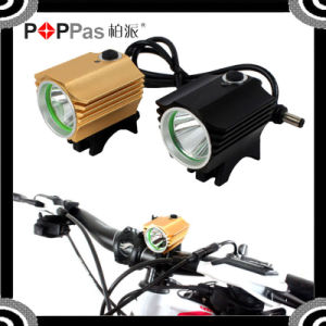 600lm LED with 4*18650 Battery Bicycle Front Light pictures & photos