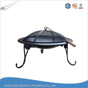 Outdoor BBQ Grii Charcoal Fire Pit Burner