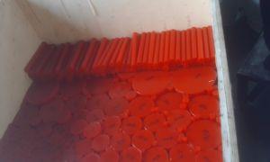 Red Polyurethane Rod, PU Rod, Polyurethane Bar, PU Bar, Plastic Rod, Plastic Bar pictures & photos