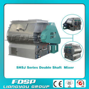 High Effeciency Double Shaft Livestock Feed Mixers for Sale pictures & photos