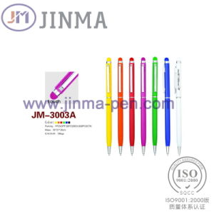 The Promotion Gifts Metal Pen Jm-3003A with Oen Stylus Touch pictures & photos