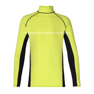 UV Resistance Long Sleeve Custom Rash Guard Surf Shirt (SNRG03)