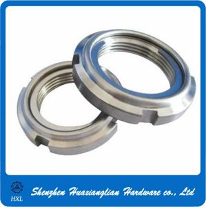 DIN 981 Slotted Round Rolling Bearing Lock Shaft Nuts pictures & photos
