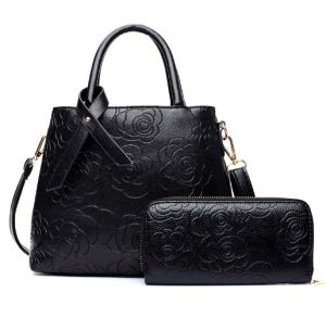 Leisure 2PCS Set Fashion Bag Women Ladies Leather Designer Handbag (XM0290) pictures & photos