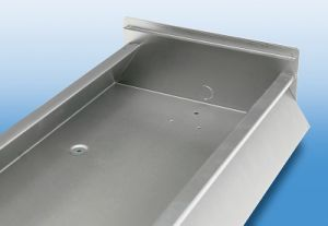Sheet Metal Fabrication for Kitchen Cabinet with Powder Coating (GL008) pictures & photos