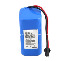 7.4V Digital Meter Lithium Battery with SANYO 18650 pictures & photos