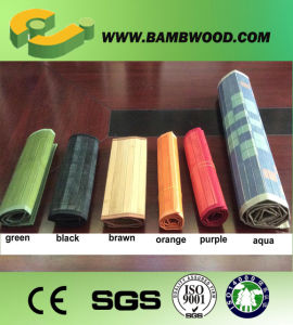 High Quality A Grade Brown Gloss Bamboo Mat pictures & photos