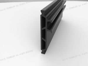 Multi-Cavity Hollow HK 35.3mm High Precision Thermal Resistant Nylon Profile pictures & photos