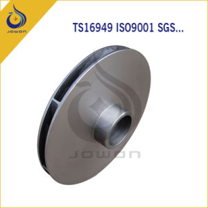 Iron Casting Hydraulic Pump Impeller Centrifugal Pump Impeller pictures & photos