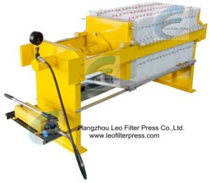 Leo Filter Press Manual Operation Filter Press pictures & photos