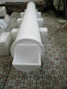 Opaque Quartz Glass Tubing with Flange pictures & photos
