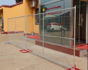 Wholesale 6foot*12foot American Standard Temporary Chain Link Fence Panel pictures & photos