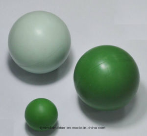 Solid Rubber Balls Applied in Pump and Vacuum Equipment pictures & photos