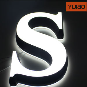 Mini Acrylic Back and Frontlit LED Sign Letter pictures & photos