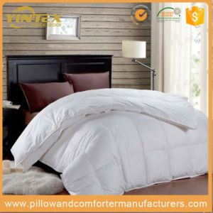 Thick High Quality Duvet, 100% Down, 100% Cotton Shell with Box Stitched Quilt pictures & photos
