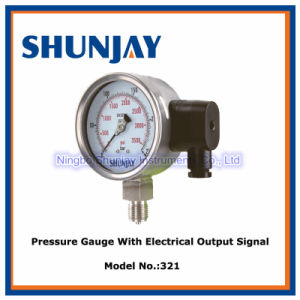 2-Wireelectrical Output Signal Pressure Gauge pictures & photos