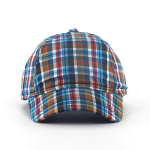 Fashion Check Pattern Baseball Caps pictures & photos