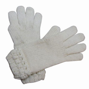 Ladies Fashion Wool Acrylic Knitted Winter Warm Dress Gloves (YKY5431) pictures & photos