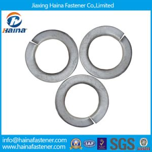 Carbons Steel HDG Structure Spring Round Lock Washers pictures & photos
