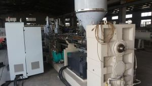 PC Hollow Structure/Wave Board Extrusion Line pictures & photos