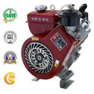 Small Oblique 4-Stroke Air Cooled Diesel Engine (160F) pictures & photos