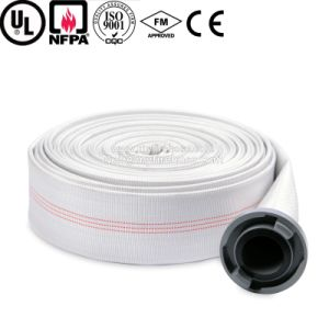 4 Inch Wear-Resisting PU Lined Fire Hose for Marine pictures & photos
