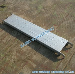 228mm Hot DIP Galvanized Ringlock System Scaffolding Planks pictures & photos