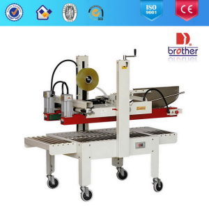 Automatic Flaps Folding Carton Sealing Machine/As323 pictures & photos
