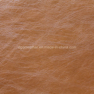 Strong Tensile Resistance for PU Leather (QDL-512148) pictures & photos