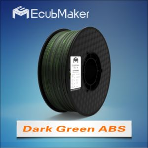 1.75mm ABS Filament for 3D Printer Drak Green Color pictures & photos