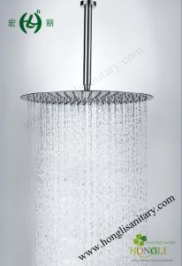 Shiny Mirror 300mm Stainless Steel Slim Shower Heads pictures & photos