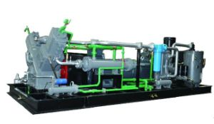 Oill Free Pet Blowing High Pressure Piston Air Compressor (KSP132/90-30) pictures & photos
