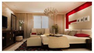 Saudi Arabian Design Hotel Bedroom Furniture (CG1502)