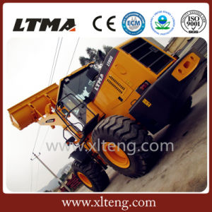 Chinese Cheap Price 5 Ton Front Wheel Loader for Sale pictures & photos