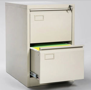 Metal 2 Drawer Filing Cabinet pictures & photos