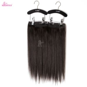 Wholesale Price Grade 5A Brazilian Virgin Hair Flip in Hair Extension pictures & photos