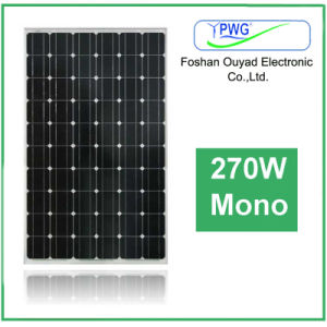 Factory Price Solar Energy Solar System Mono Solar Panel 270W pictures & photos