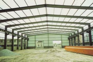 Al-Mg-Mn Panel Steel Structure Frame Warehouse pictures & photos