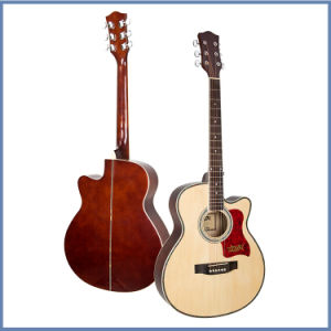 Wholesale Soild Acoustic Guitar with Rosswood Body pictures & photos