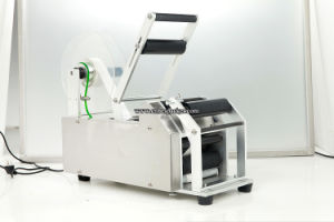 Round Bottle Lables Sticker Adhesive Labeling Machine pictures & photos