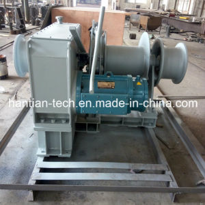 50kn/5ton Electric Winches Marine Mooring Winches (HTEMW50) pictures & photos