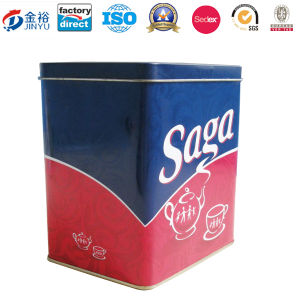 Rectangle Shaped Coffee and Tea Tin-Jy-Wd-2015112102 pictures & photos