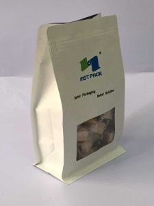 Printed Paste Paper Box Bag/ Bread Packaging Bag pictures & photos