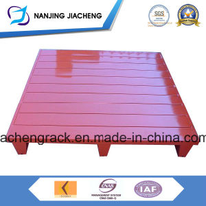 Warehouse Powder Coated Q235 Metal Pallet Made in China pictures & photos
