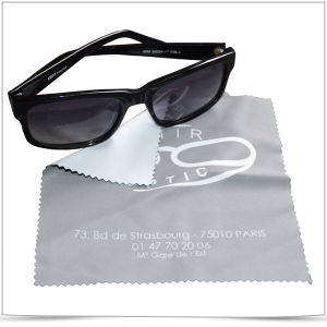 Promotional Microfiber Cleaning Cloth with Digital Tranfer Printing pictures & photos