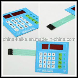 Tactile Membrane Switch Panel Embossed Button Matrix Membrane Keypad pictures & photos